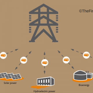 An image showing decentralised energy systems
