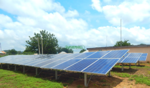 What is a mini-grid? This is a picture of a mini-grid built by Havenhill in Kwaku community