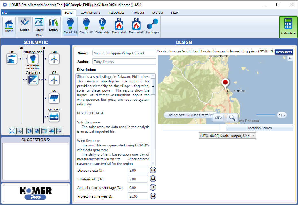 Homer Energy - Software tools used in the off-grid electricity industry