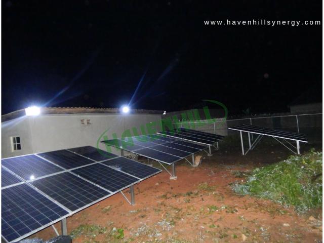 Kwaku Solar Mini Grid Abuja Nigeria Havenhill Synergy