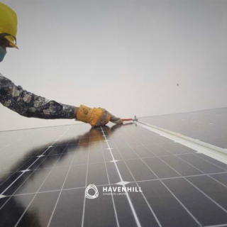 A solar engineer. Careers in the off-grid energy sector_Havenhill SYnergy Limited_Nigeria